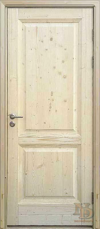 двери входные из массива сосны под заказ москва