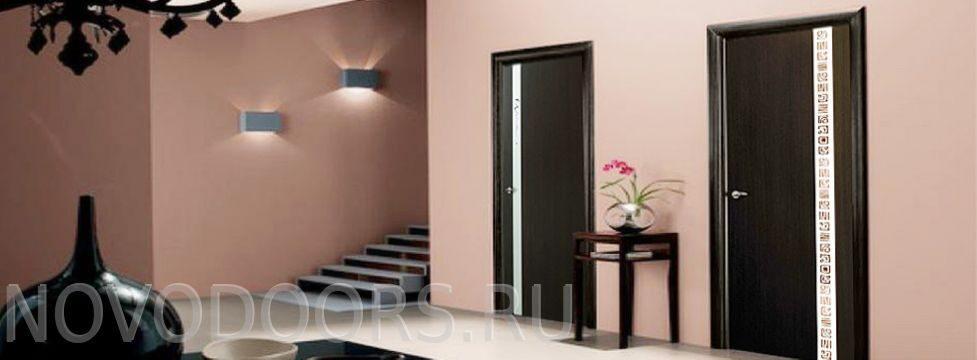 Цвет дверей в интерьере